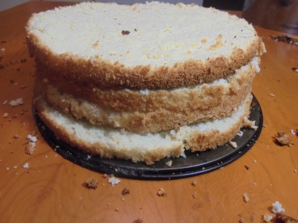 Как сделать коржи торта ровными 804