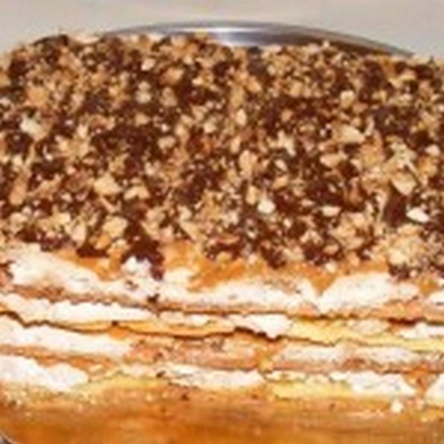 Торт «Воздушный сникерс» — рецепт с пошаговым фото