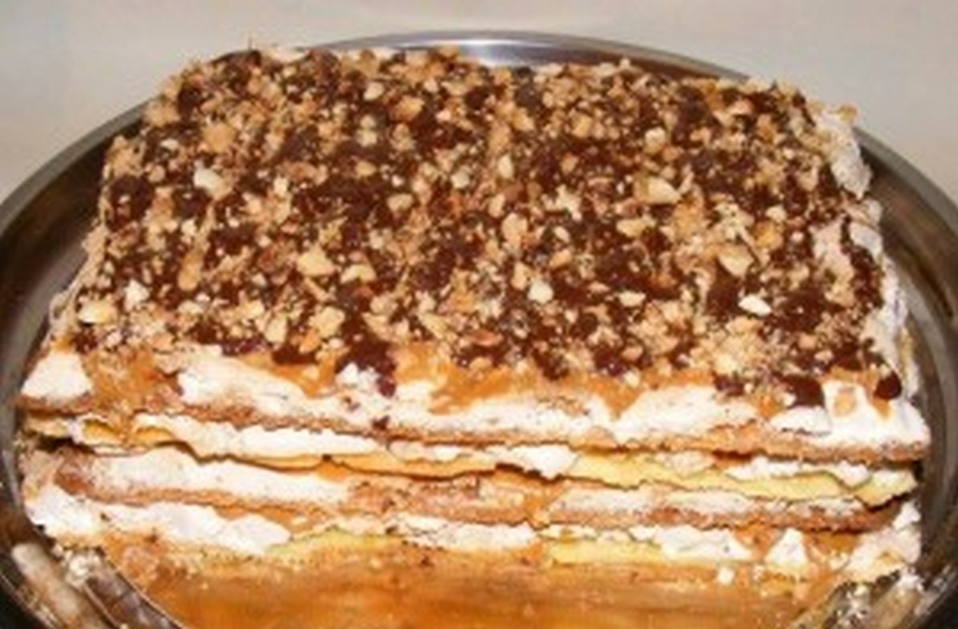 Торта сникерс с фото