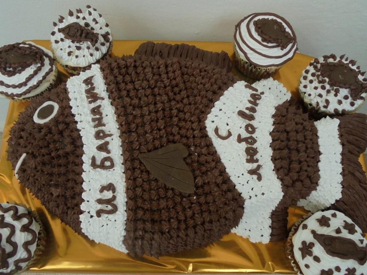крем для украшения торта который держит форму