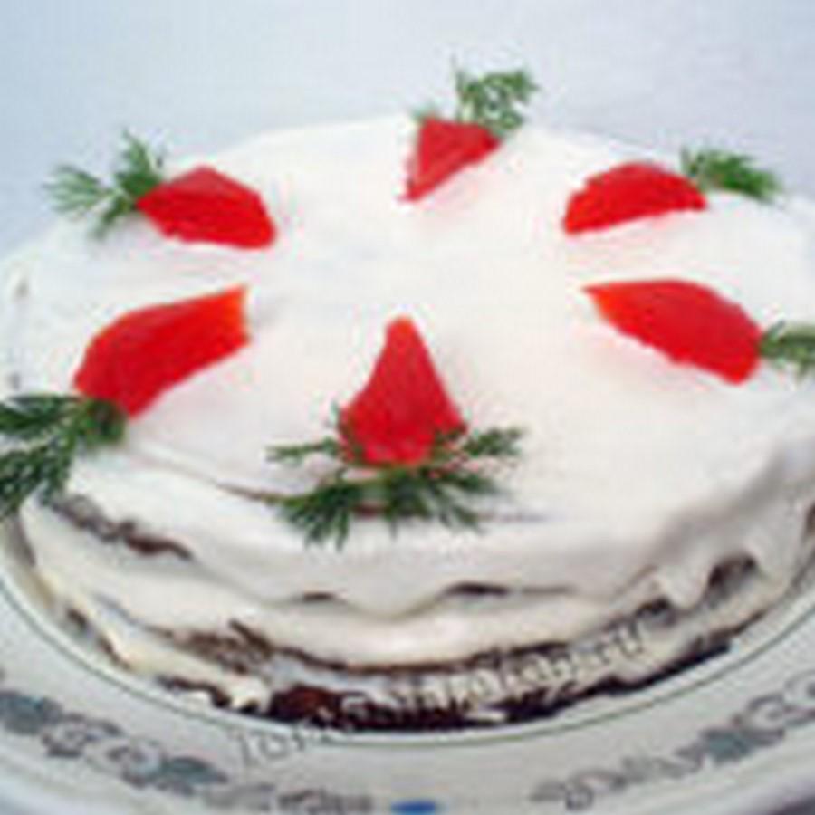 Морковный торт со сметанным кремом — классический рецепт (с фото) По рецепту  Энди шефа.