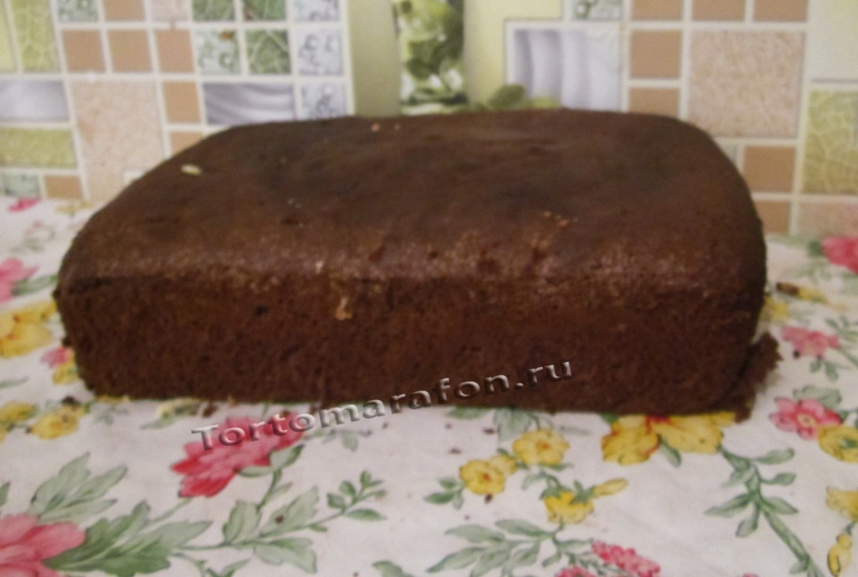 Бисквит на кефире для торта в домашних условиях
