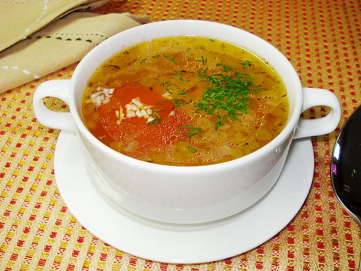 Суп мясной рисом рецепт