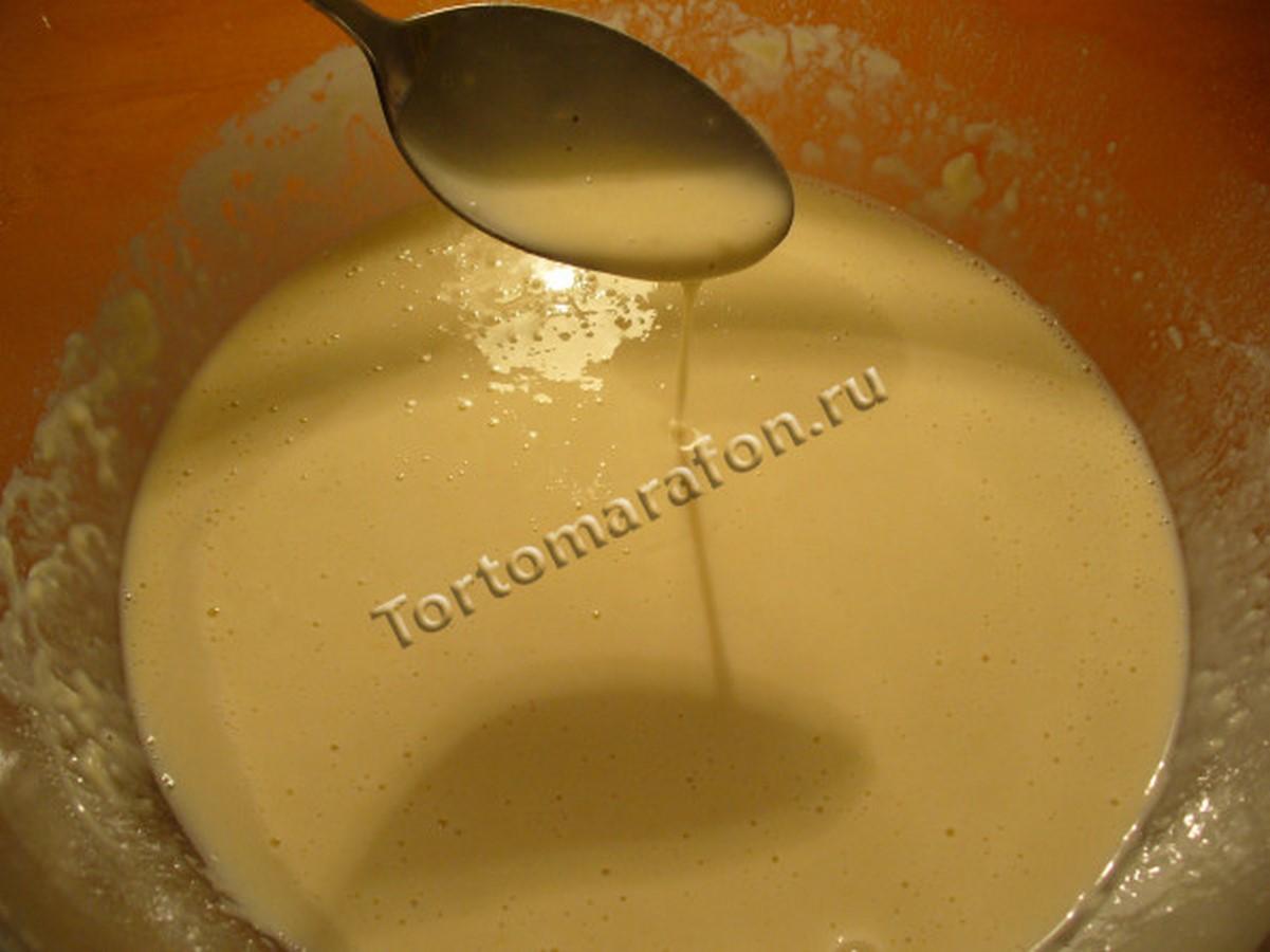 Тонкие блины на молоке в бутылке рецепт пошагово
