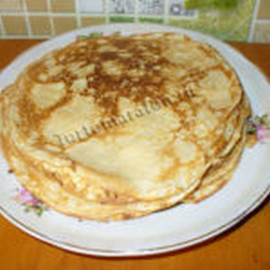 Рецепт блинов на молоке классический. Как приготовить тонкие блины на молоке (с фото)