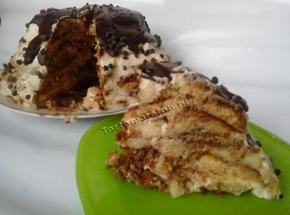 Простой творожный торт рецепт пошагово в домашних условиях 60