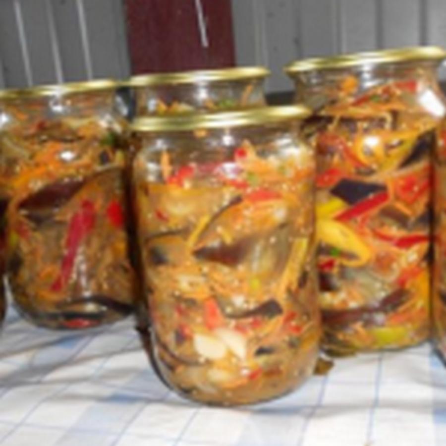 Баклажаны по-корейски — самый вкусный рецепт