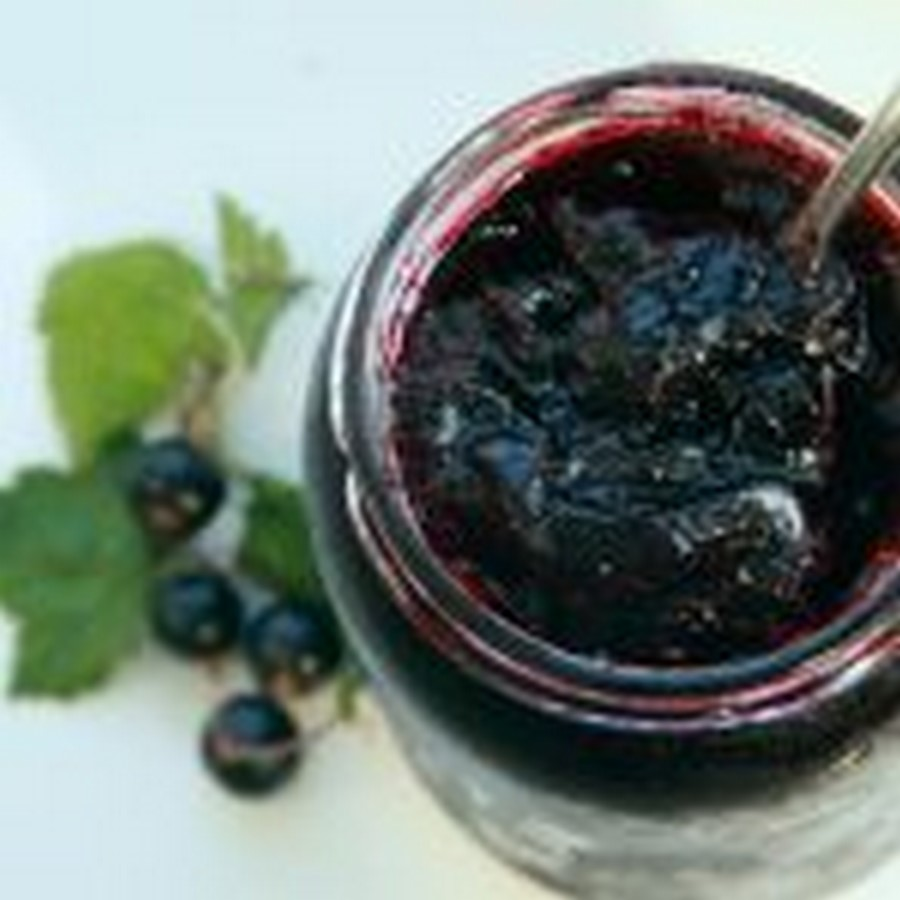 Как сварить варенье из черной смородины пятиминутка — желеобразное