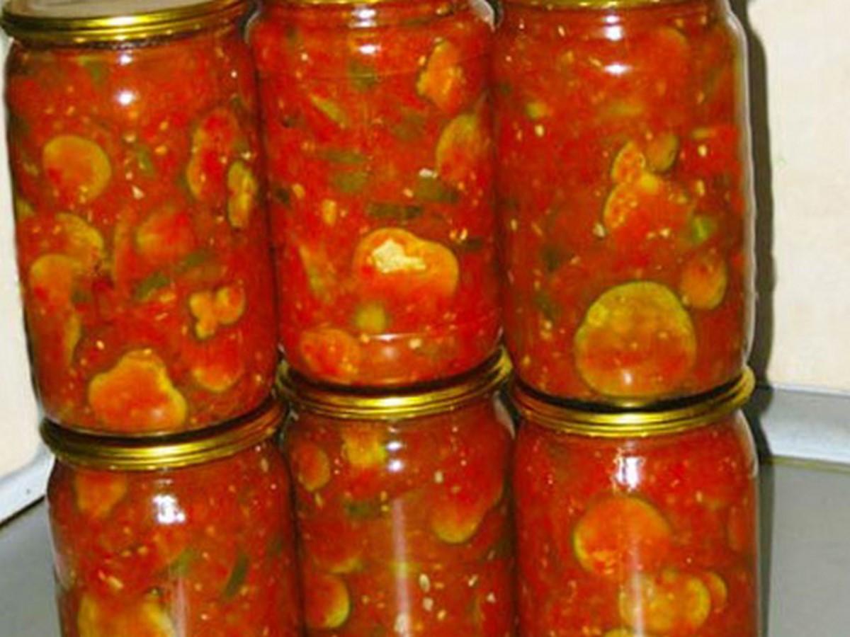 Кабачки в соусе на зиму рецепты