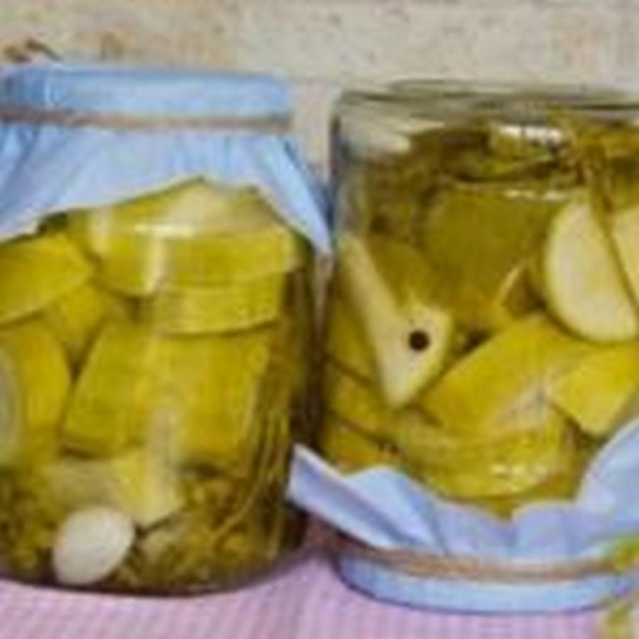 Кабачки, как грузди — рецепт на зиму