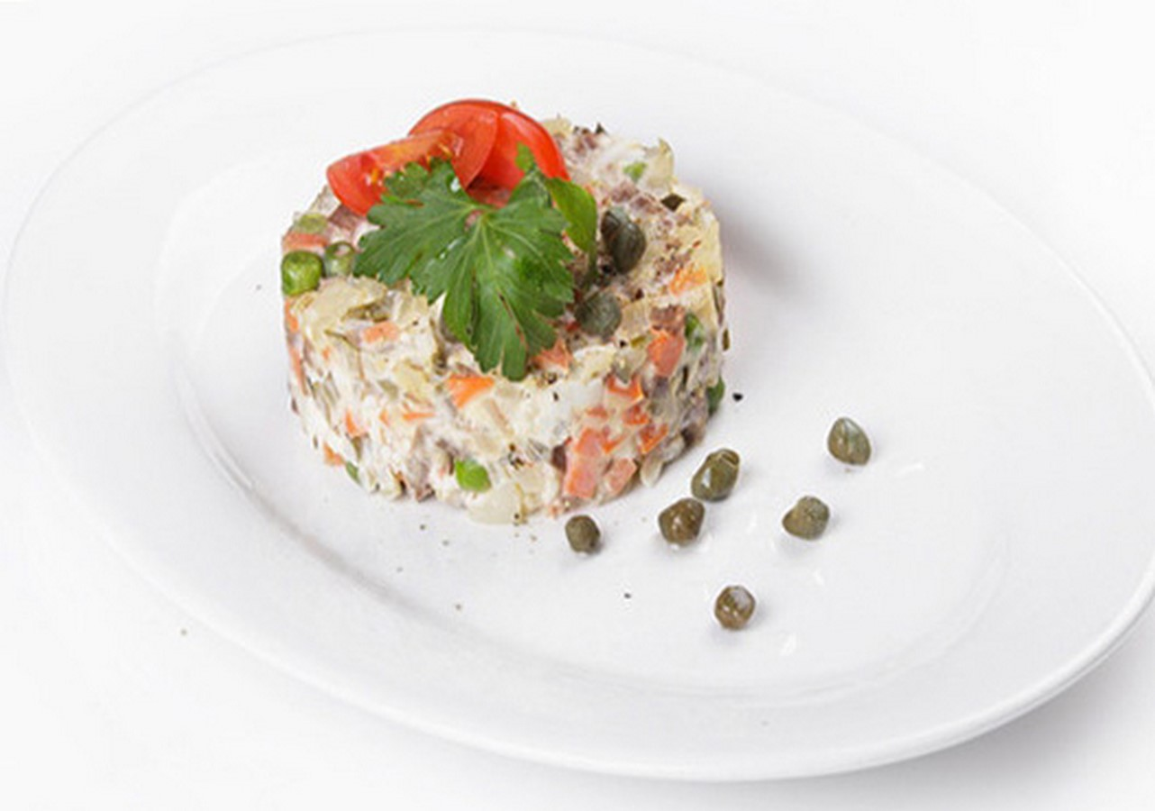 Салат из мяса свинины рецепт