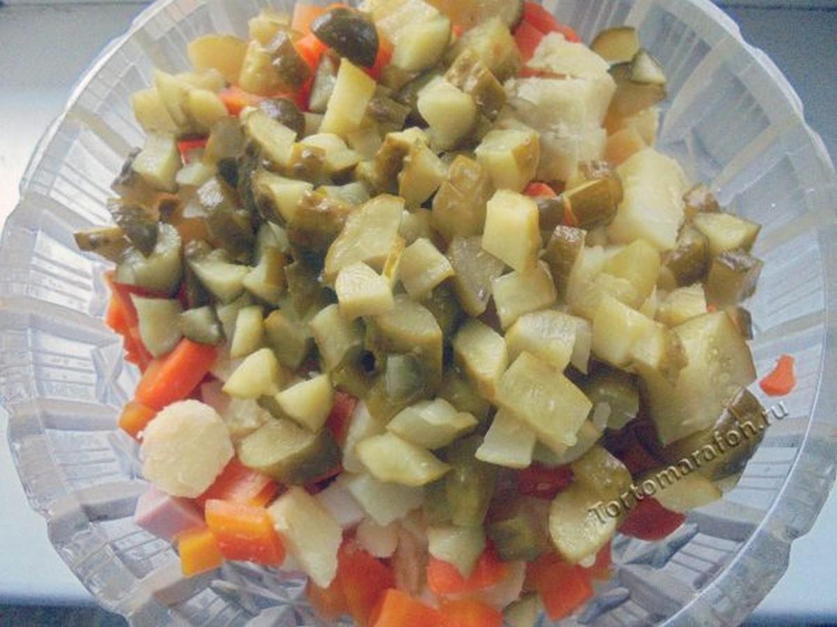 салат оливье очень вкусный рецепт с фото tortomarafon.ru