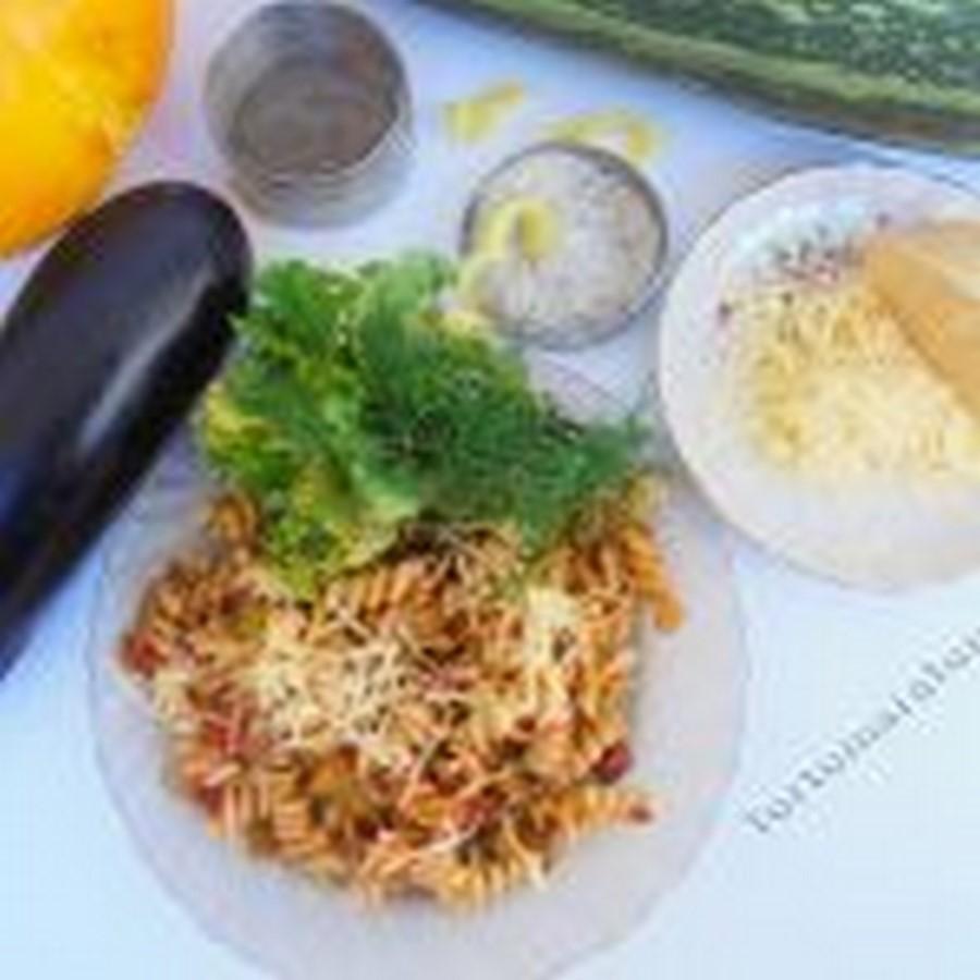 Паста с баклажанами и помидорами. Готовим макароны с овощами — рецепт с фото