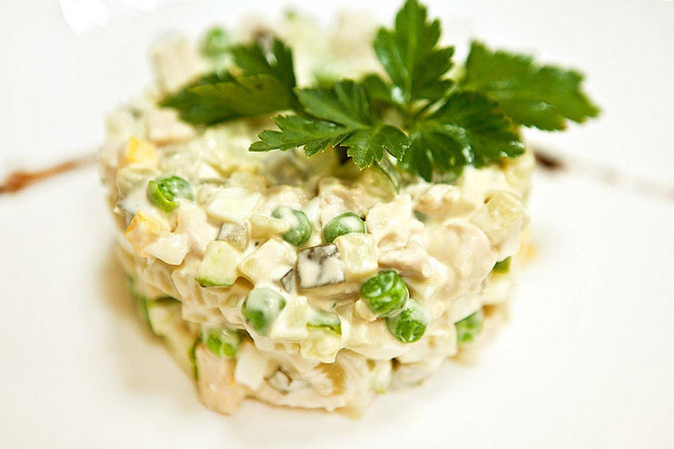 Пошаговые рецепты салат столичный с фото