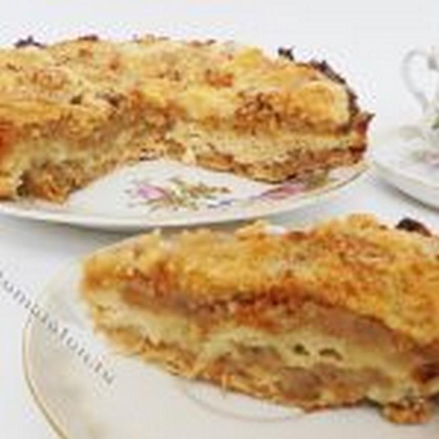 Сухой пирог с яблоками и манкой — пошаговый рецепт.  Как испечь яблочный пирог в духовке