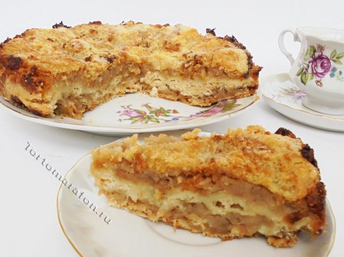 сухой яблочный пирог tortomarafon.ru