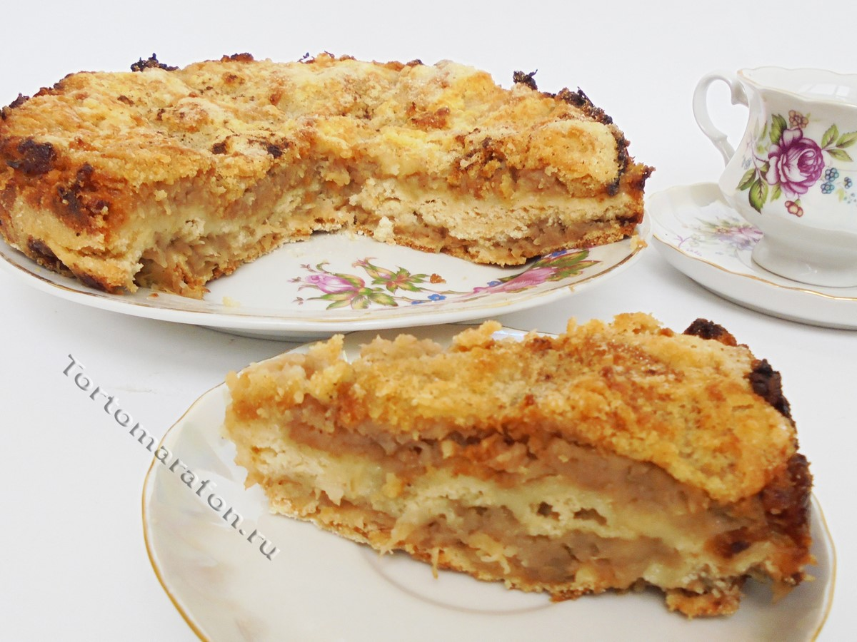 Открытый пирог с клюквой рецепт пошагово в духовке