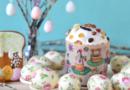 Как украсить яйца к Пасхе 2017 с помощью фольги, ткани или декупажа салфетками