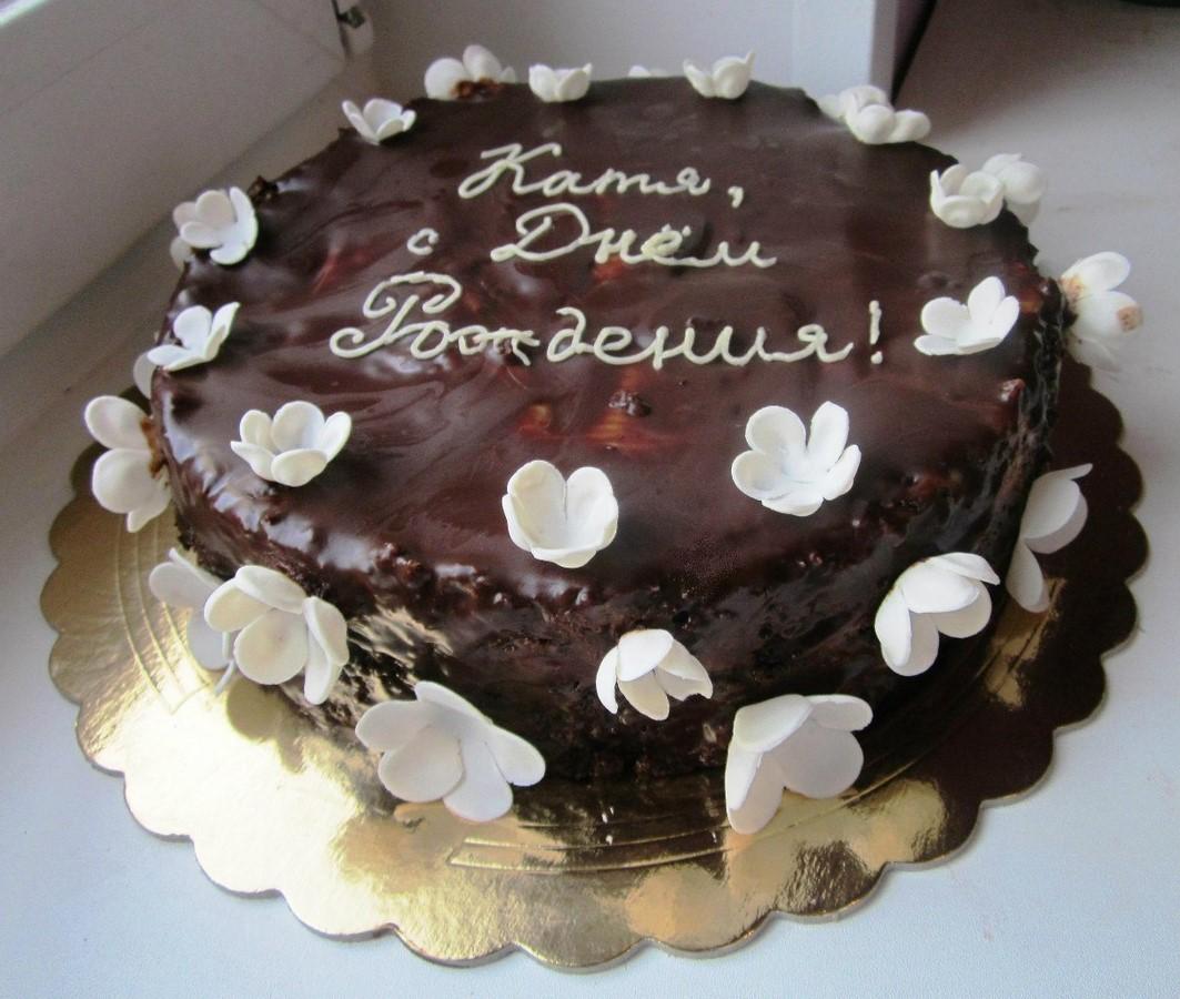 Как сделать шоколадную глазурь из шоколада для торта 152