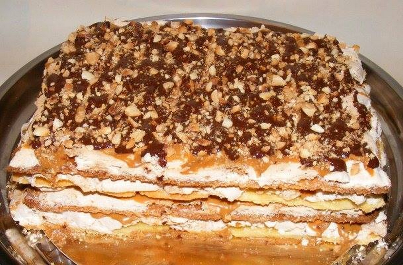 торт сникерс рецепт с фото коржами
