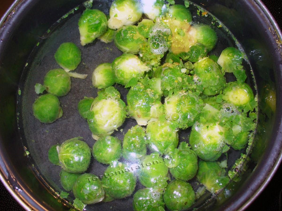 что приготовить из брюссельской капусты