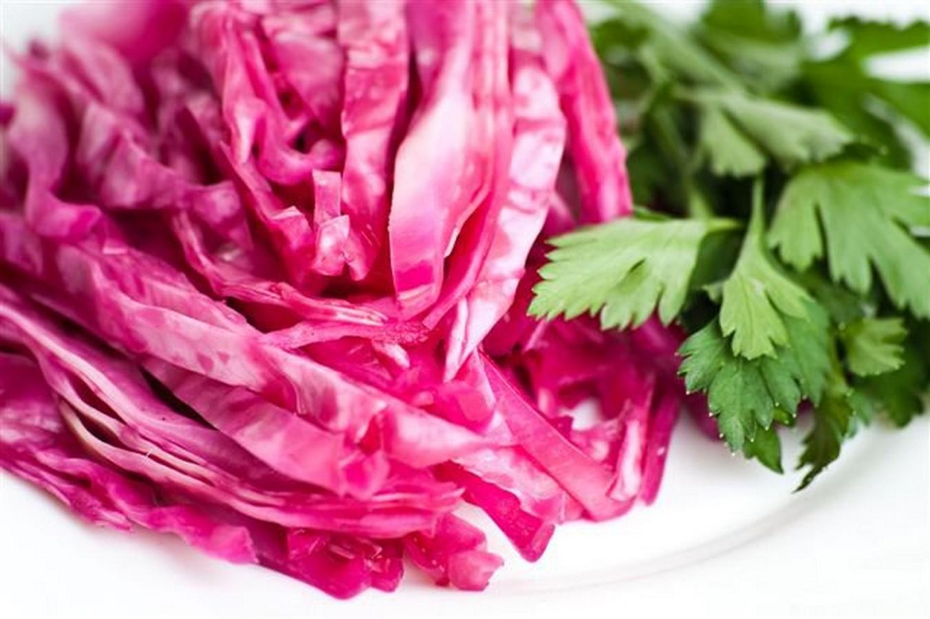 рецепт засолки красной капусты