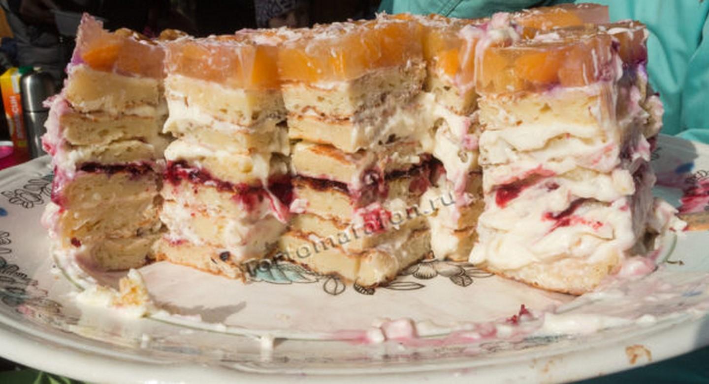 творожный торт рецепт с фото пошагово