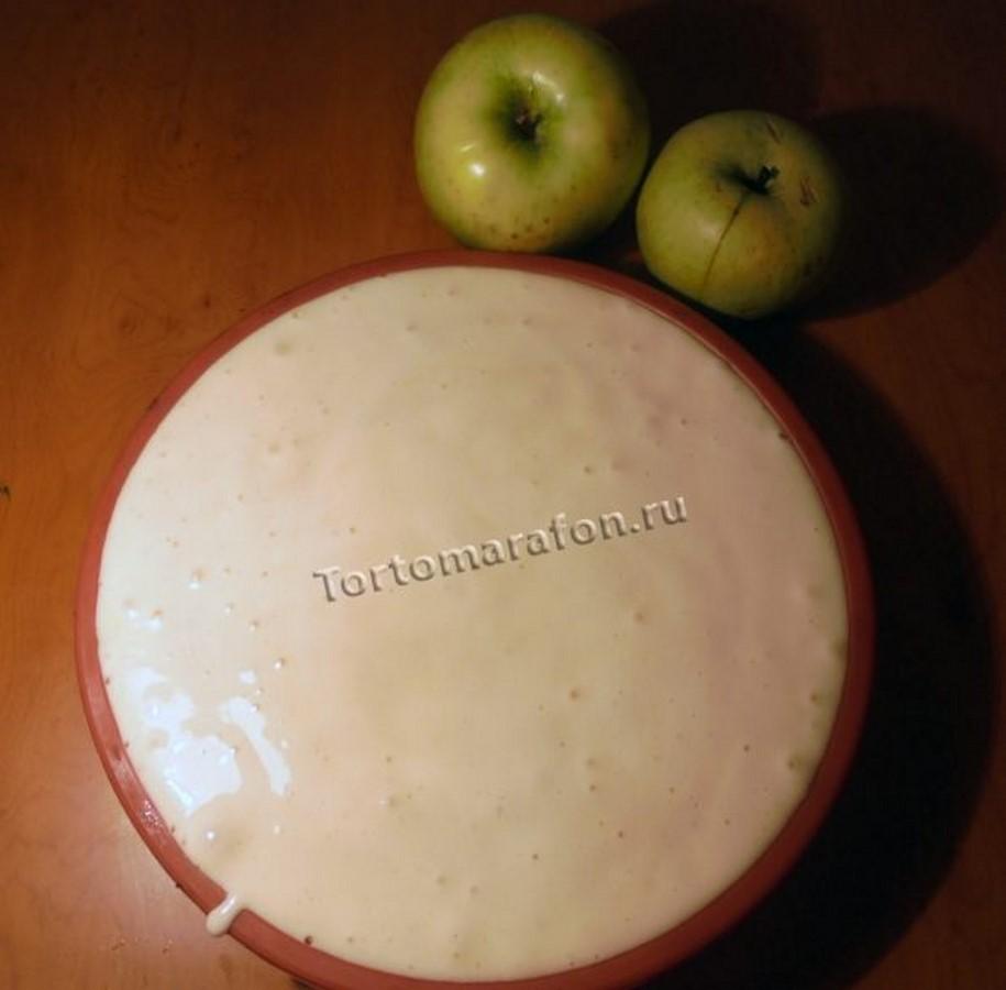 Шарлотка с яблоками: рецепт с фото пошагово в духовке