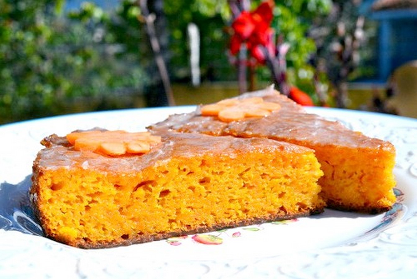 Торт с морковью рецепт простой