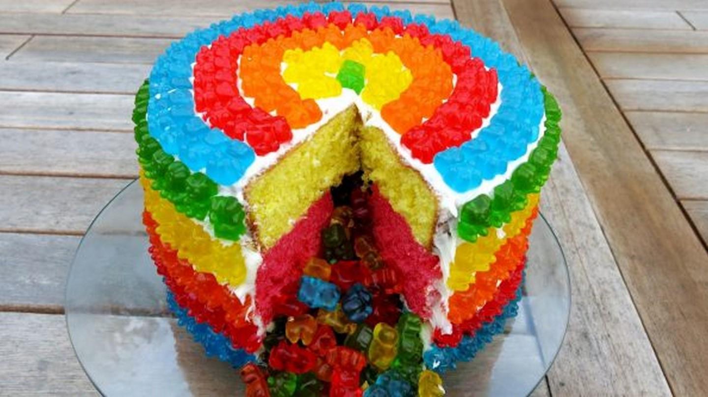 Gummy-cake