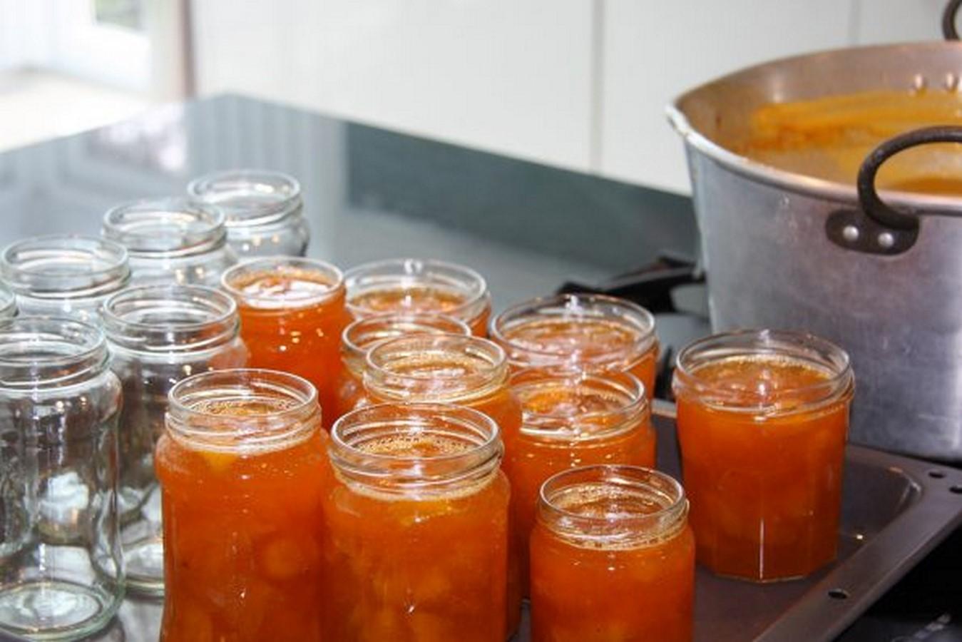варенье из абрикосов без косточек пятиминутка