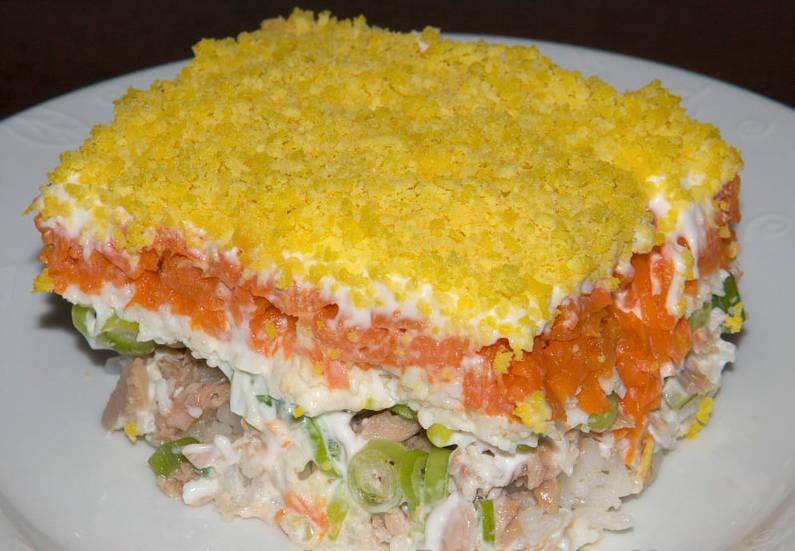салат мимоза классический рецепт с фото от анастасии скрипкиной