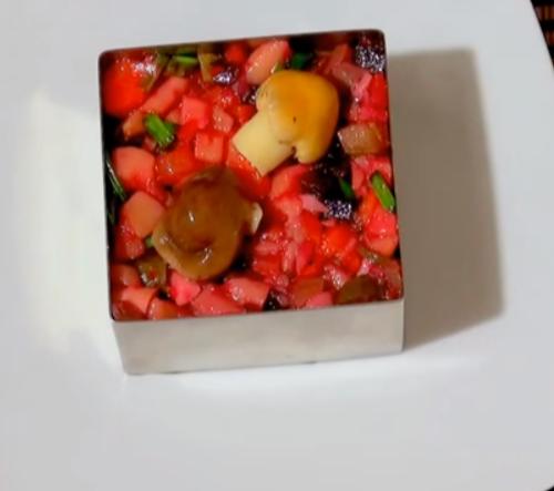 Винегрет рецепт классический с горошком и капустой рецепт
