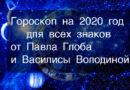 Гороскоп на 2020 год по знаку Зодиака и году рождения (Восточному календарю). От Павла Глоба и Василисы Володиной