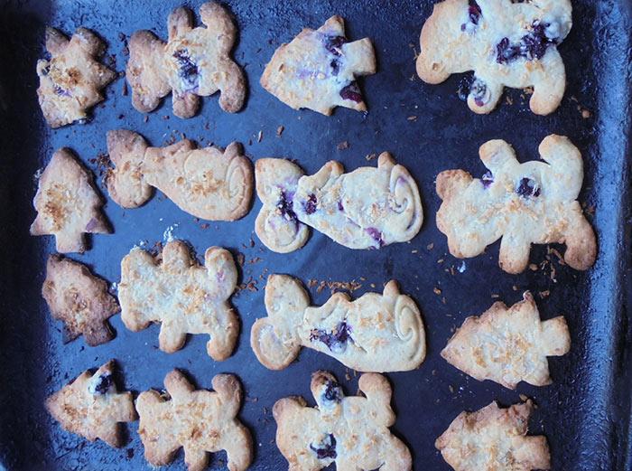 Постное печенье в духовке