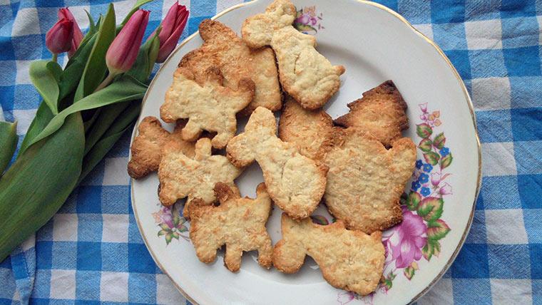 Постное печенье на рассоле от огурцов или помидор